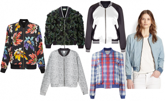 Make the Trend: Bomber Jacket Boom! by Kollabora | Blog post ...