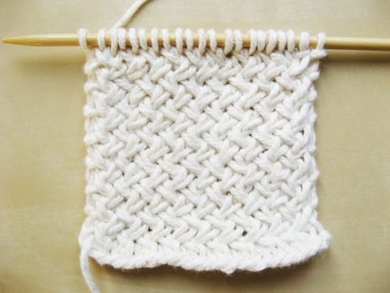 Tutorial Thursday: Diagonal Basketweave Knit Pattern with How Did You Make Th...