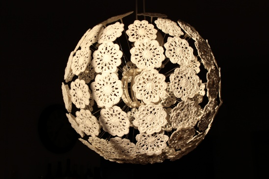 Crochet Your IKEA Lamp By Tricotin.com