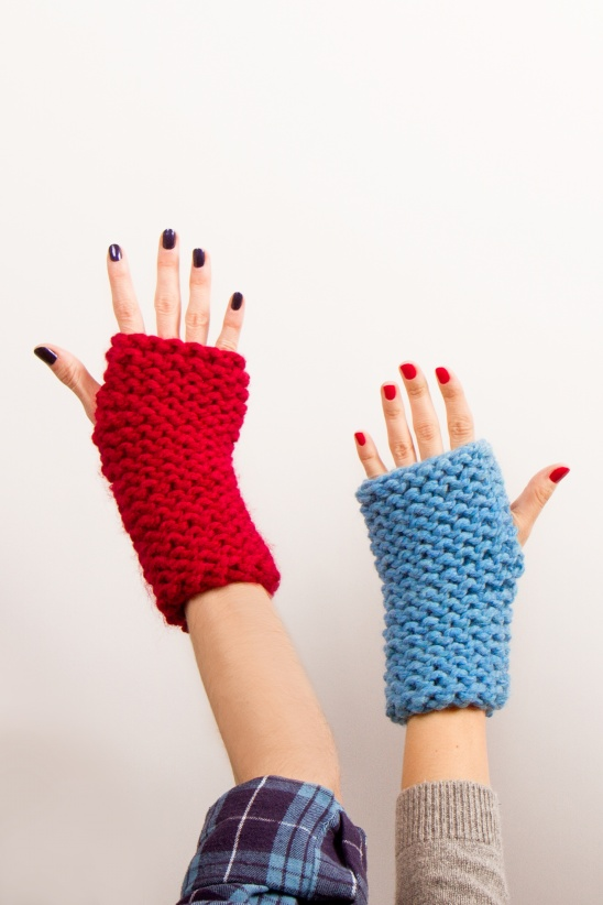 Knockout Fingerless Gloves by Kollabora | Project | Knitting ...