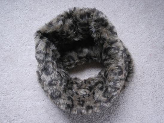 Diy Faux Fur Cowl Scarf Chic Snood By Createenjoy Project