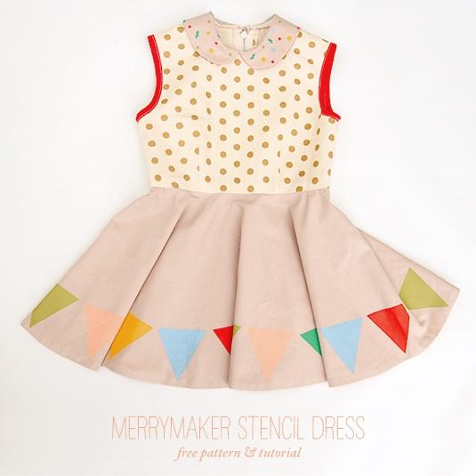 merry maker dress by handmade charlotte by handmade