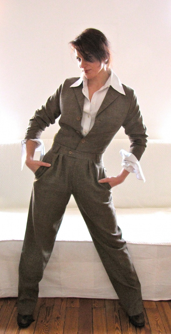 Re Fashioned Mens Suit By Katja Project Sewing Refashion