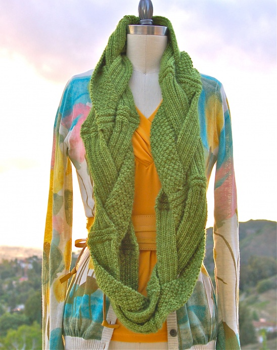 Challah Infinity Scarf Pattern Supply Patterns Kollabora