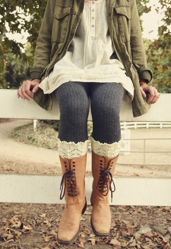 Knitting Terminology M1 : Asheville boot liners by pam powers project knitting