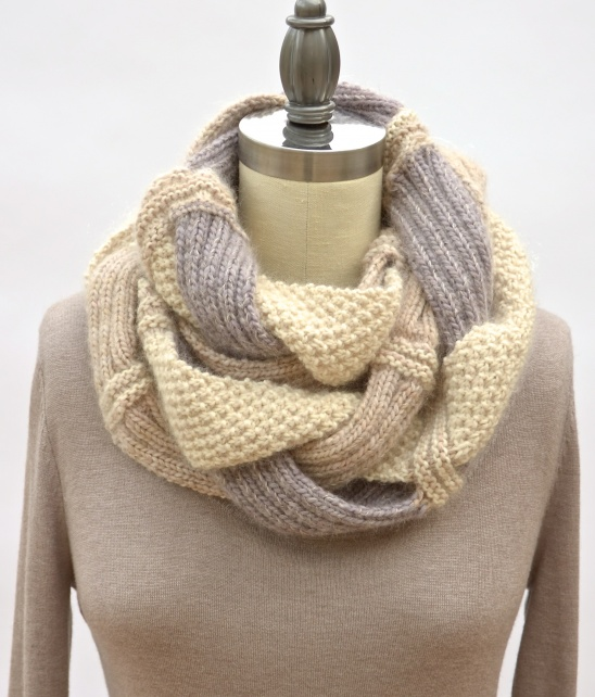 Challah Infinity Scarf By Pam Powers Project Knitting