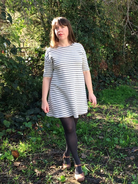 Marianne Dress - French Terry by Christine Haynes | Project