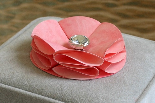 Fold paper flowers choice image flower decoration ideas folded paper flowers best flower 2017 how to fold paper flowers 10 s with pictures wikihow mightylinksfo Choice Image
