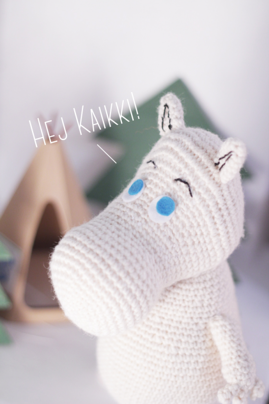 Amigurumi Moomin by Jenn from The Sun and the Turtle | Project ...