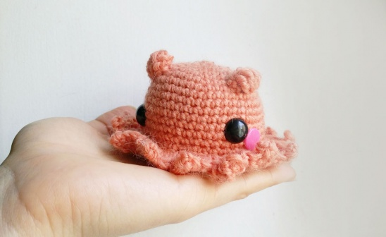 Free Crochet Pattern for Amigurumi Octopus ⋆ Crochet Kingdom | 336x548