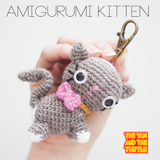 Crochet Patterns Kittens : Amigurumi Kitten - Crochet Pattern Supply Patterns ...