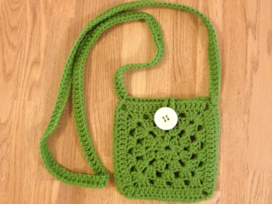 Crochet Granny Square Purse Pattern : Granny square purse by Katie Lukianov Project Crochet / Bags ...