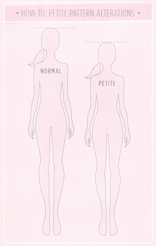 How To Make A Pattern Petite: Part 3 by Maddie   Technique   Sewing ...