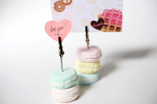 Diy Macaron Stand Card Holder Deko Sweets By Carly Cais Project