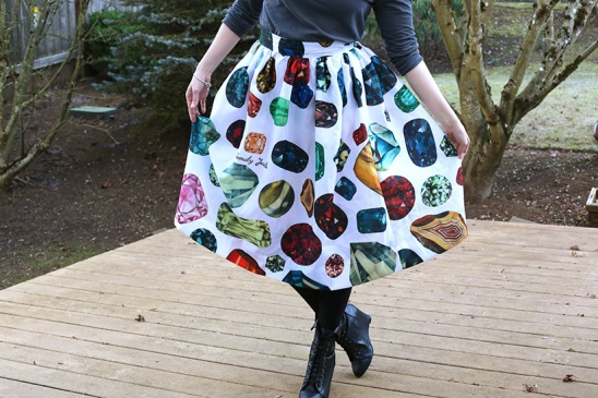 Diy Ballroom Skirt From A Shower Curtain By Carly Cais Project