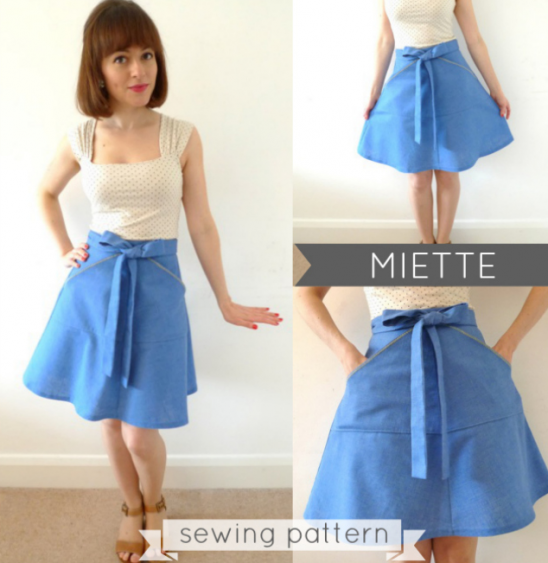 Tilly and the Buttons\' Miette Skirt Pattern | Supply | Patterns ...