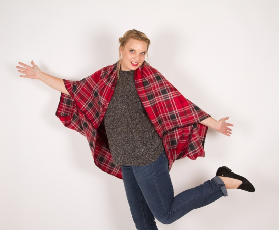 Blanket Cape By Kollabora Project Sewing Scarves Shawls