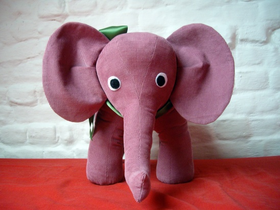 Pink Elephant by tassadit | Project | Sewing / Toys | Kids & Baby ...