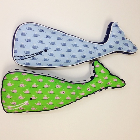 Free Whale Pillow Pattern by Dear Stella Design | Project | Sewing ...