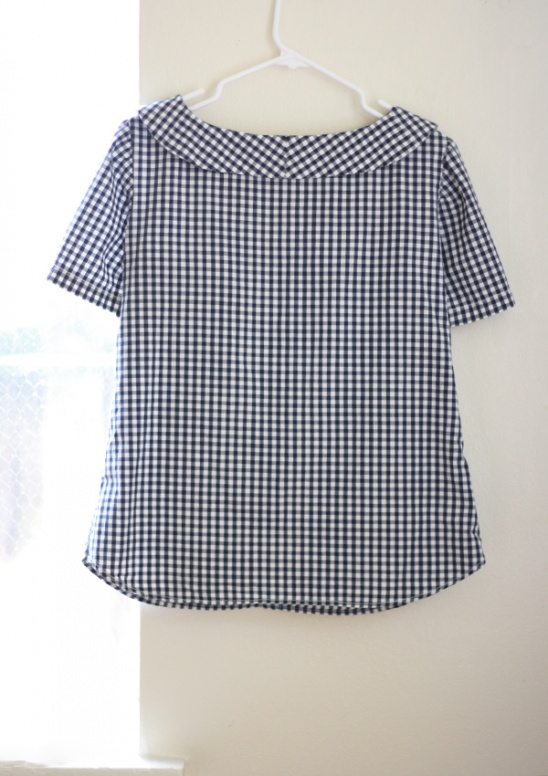 Gingham Mens Shirt Refashion by Michael Ann Project Sewing