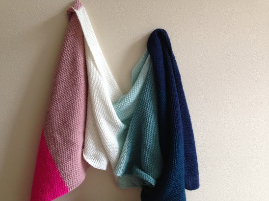 7d5eef5267 Seed Stitch Wrap by Danielle Brown | Project | Knitting / Scarves ...
