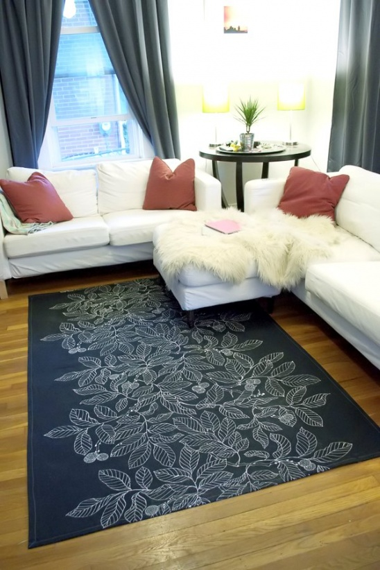 DIY Dropcloth Rug by Very Paige | Project | Home Decor ...
