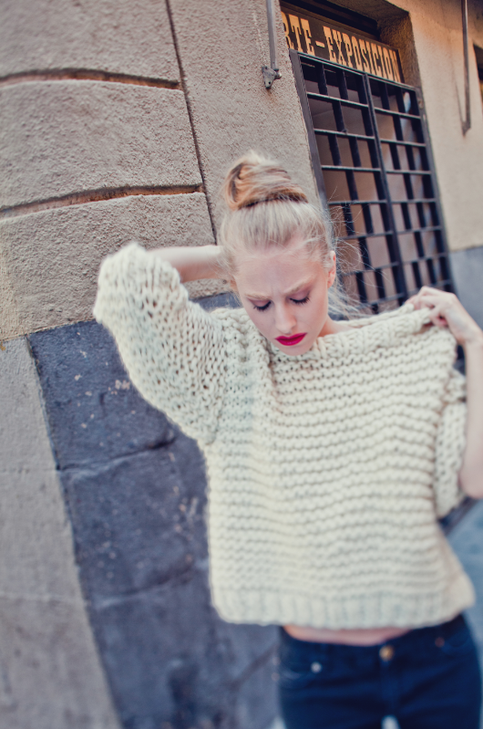 169048f403ca71 NOLITA SWEATER by WE ARE KNITTERS