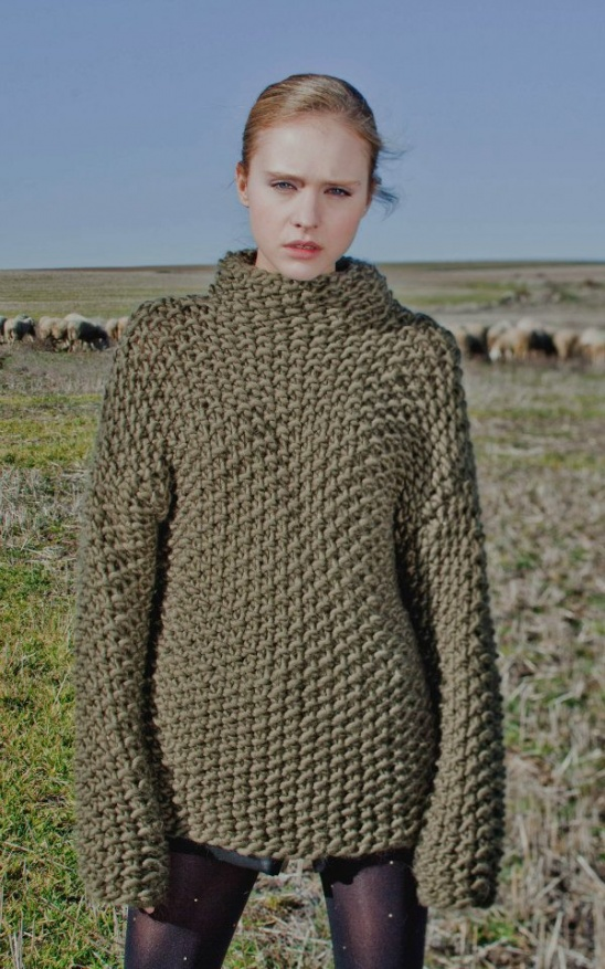 VERTIGO SWEATER by WE ARE KNITTERS Project Knitting / Cardigans & Swe...