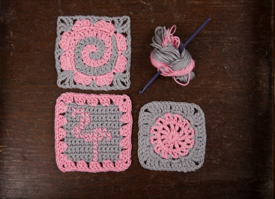 Crochet Granny Square Pattern by Claireabellemakes | Project ...