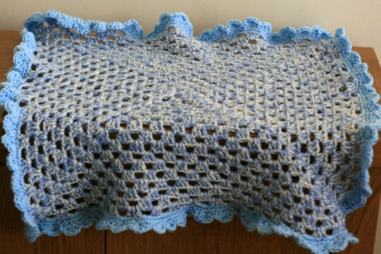 Crochet Granny Square Baby Blanket By Claireabellemakes Project