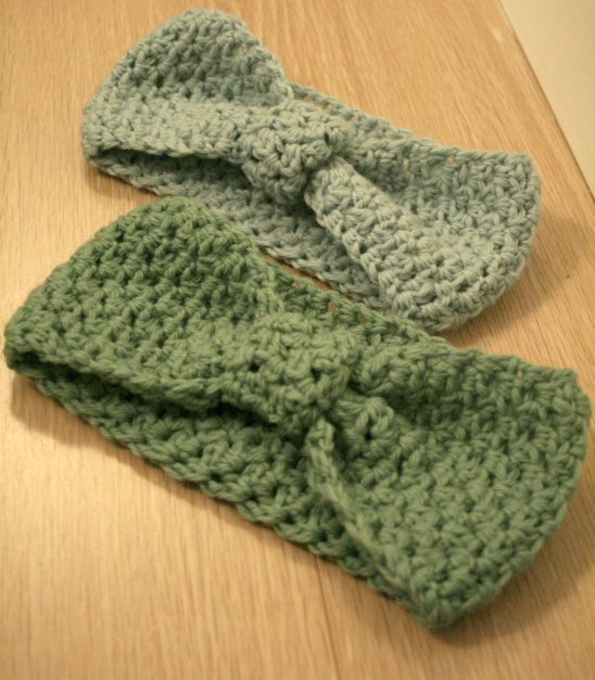 Crochet Earwarmer / Headbands by Claireabellemakes | Project ...