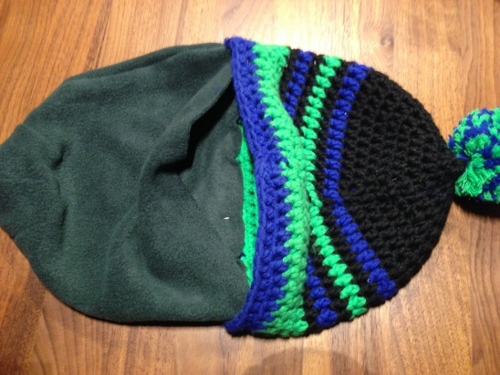 How to line a hat with fleece by nelakell  c9e7742f92c