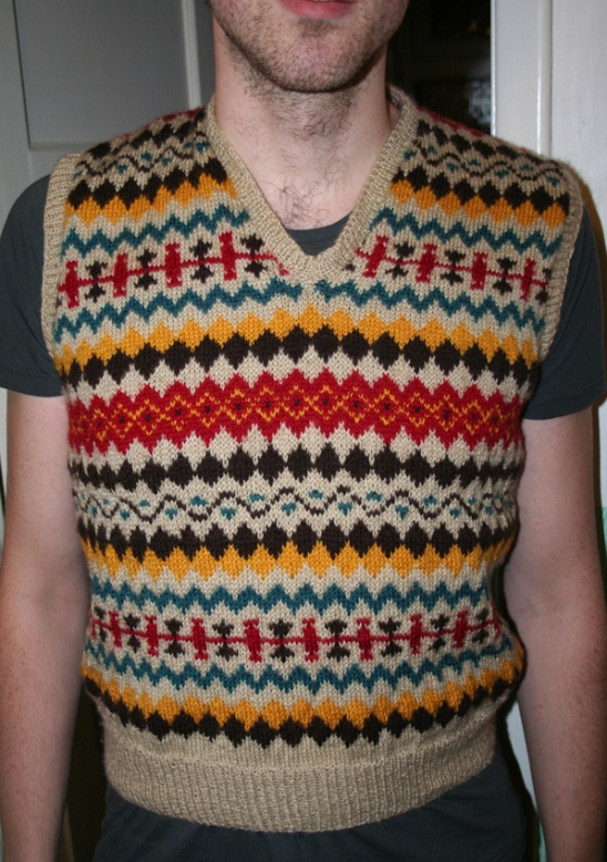 1940's Fair Isle Pullover by Wendy | Project | Knitting / Shirts ...