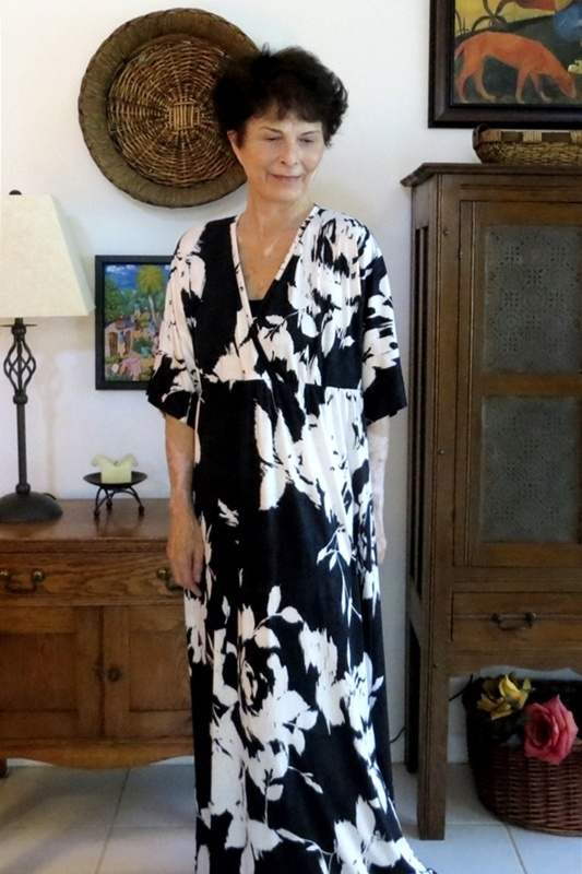 Simplicity 2031 Kimono Sleeve Maxi By Coco Project Sewing
