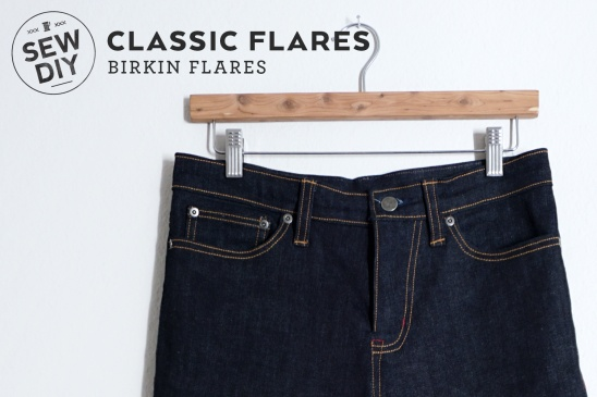i made my own jeans i love the flared design of the birkin flares get all the details on the blog