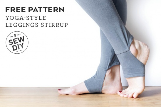 Yoga-Style Stirrup Leggings by Sew DIY | Project | Sewing / Socks ...