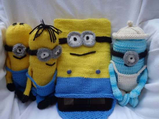 Minion Tablet Or I Pad Cover By Stanas Critters Etc Project