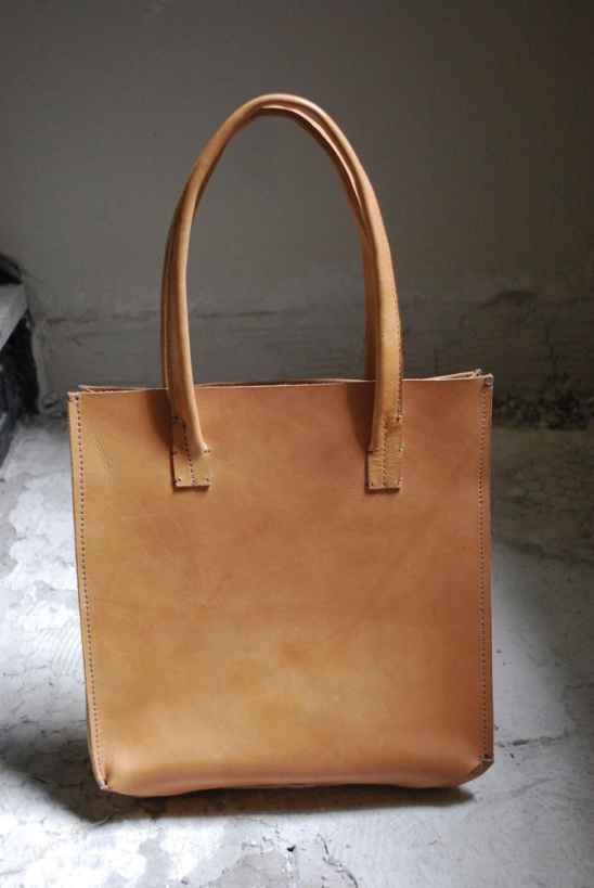 Leather Shopping Bag by Larissa Zemke | Project | Sewing ...