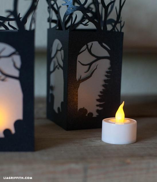 Diy Halloween Lanterns By Lia Griffith Project Home
