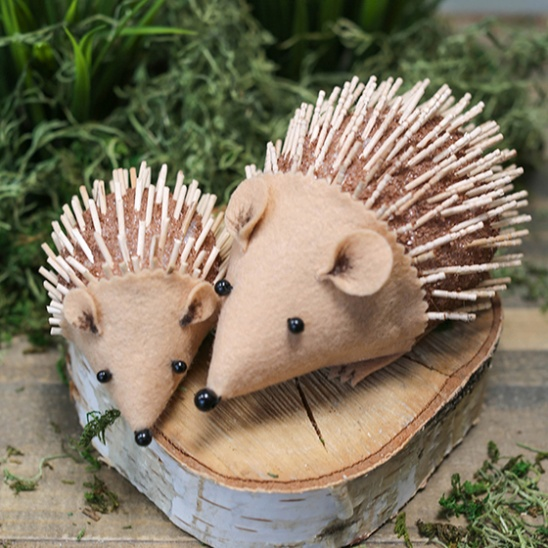 Kids Diy Hedgehog Project By Lia Griffith Project Felting Home