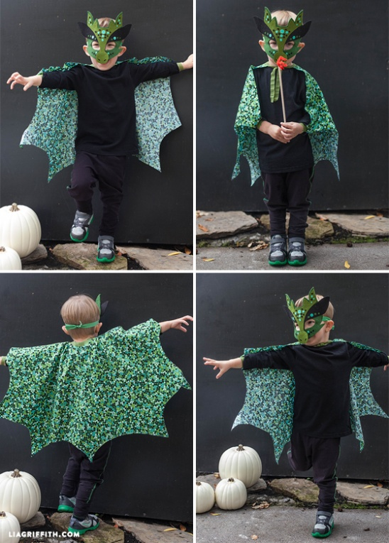 Handmade Dragon Halloween Costume by lia griffith ...