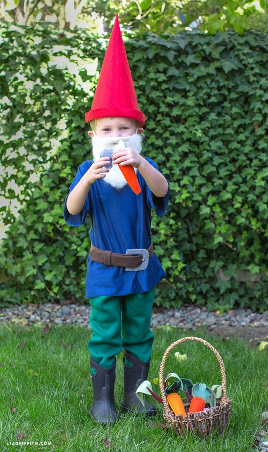 DIY Gnome Costume by lia griffith | Project | Sewing | Felting / Kids u0026 Baby | Holiday | Kollabora & DIY Gnome Costume by lia griffith | Project | Sewing | Felting ...