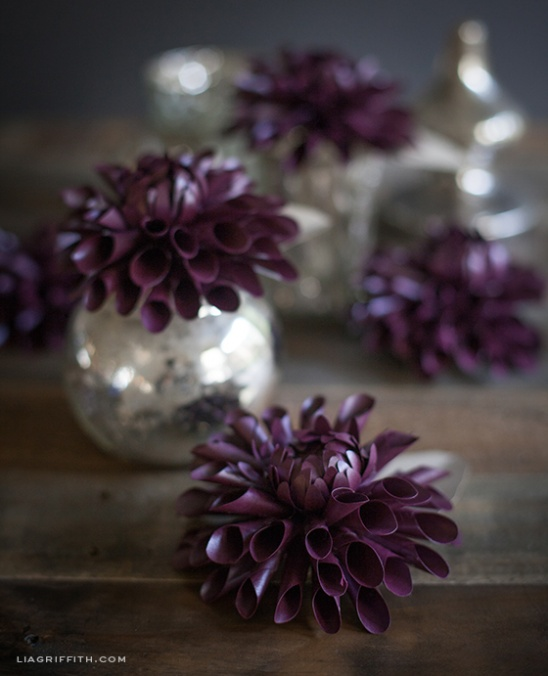 diy paper dahlia by lia griffith