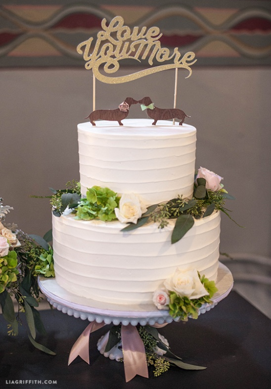 Diy Wedding Cake Toppers By Lia Griffith Project Papercraft