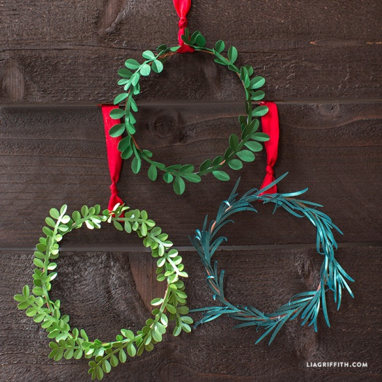 Image Result For Pinterest Christmas Wreath Crafts