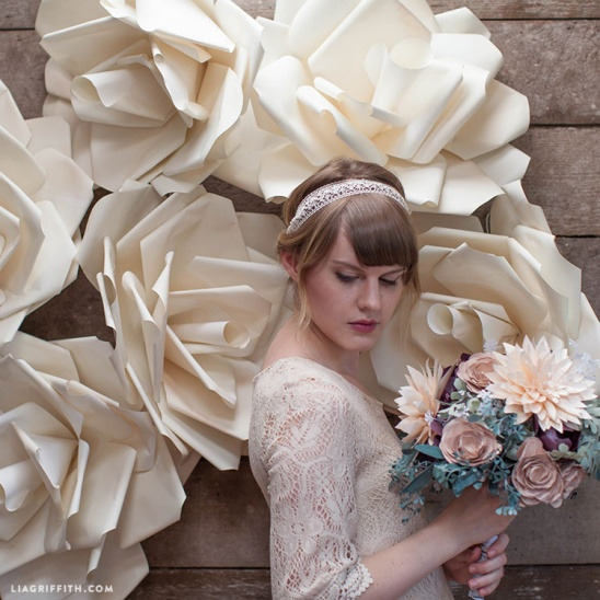 Jumbo Paper Flower Video Tutorial By Lia Griffith Project Home