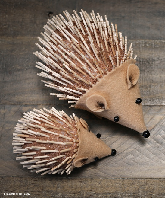 Kids DIY Hedgehog Project by lia griffith | Project ...