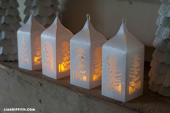 Diy Paper Lanterns By Lia Griffith Project Home Decor