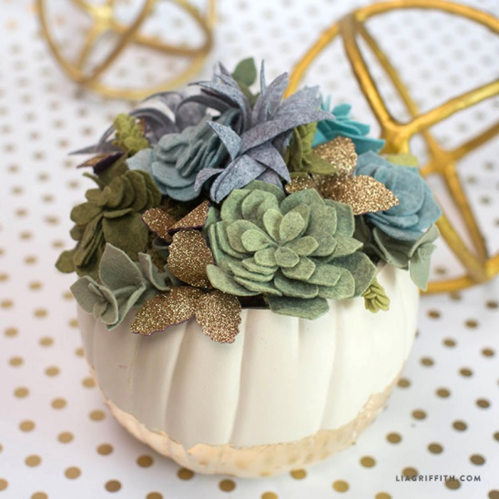 Felt Succulent Pumpkin by lia griffith | Project | Home