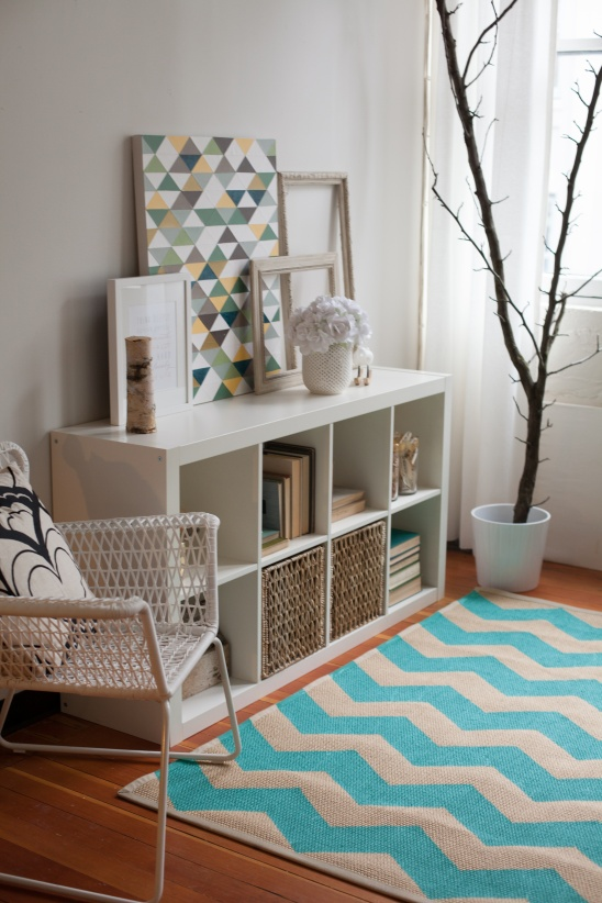 How To Paint A Chevron Rug By Lia Griffith Project Home Decor Rugs Kollabora